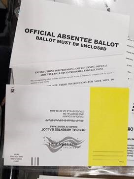 Abseentee Ballot Packet